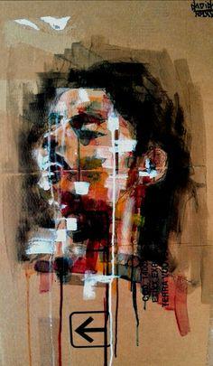 #art#draw#illustration#paint Smalti liquidi a rullo su R.O.T
