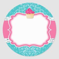Shop Cupcake and Dessert - Packaging Stickers created by colourfuldesigns. Chip Packaging, Dessert Packaging, Packaging Stickers, Bakery Packaging, Cake Wallpaper, Flower Background Wallpaper, Logo Sticker, Sticker Design, Logo Doce