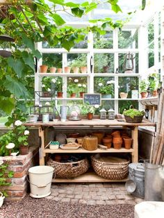 Smart Garden Shed Organizations Ideas