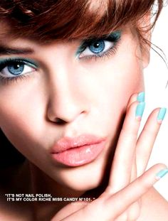 "Influence and Stardoll: ♥♥♥ Barbara Palvin for L'Oreal ""Miss Candy"" collection"