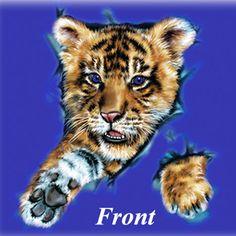 #baby #cub #tiger #kids #children #tshirts #tee #clothing
