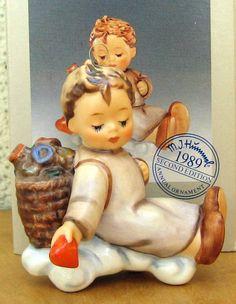 HUM #481 LOVE FROM ABOVE TM7 GOEBEL M.I. HUMMEL FIGURINE ORNAMENT 1998 NIB #Figurine