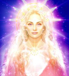 Libra, Deusa da Liberdade. Grande Ser Cósmico personifica o amor perfeito de Deus que nos concede amor incondicional, compaixão, força e pureza. Eu sou a Alma, Eu sou a Luz Divina, Eu sou o Amor, Eu sou Vontade, Eu sou o Desígnio Imutável.