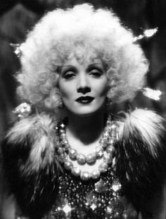 Marlene Dietrich in BLOND VENUS, Paramount, 1932. What a presence! Cary Grant (in his first year of film acting) was the young playboy millionaire she used to finance her poor husband's medical treatment.