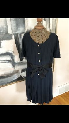 Available for purchase in my Etsy shop Vintage Chanel Dress, Home Accessories, Vintage Outfits, My Etsy Shop, Therapy, Shirt Dress, Antiques, Trending Outfits, Business