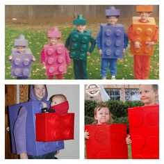Lego Brick Costumes
