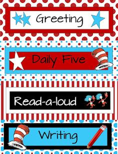 2nd and 1st Grade Smarty-Arties               taught by the Groovy Grandma!: New schedule cards
