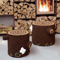 Bosque Crochet Seating by Seletti