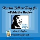 This foldable book will be perfect to accompany your MLK Jr. activities in your classroom!  It's easy to assemble...Just copy and fold twice.  Ther...