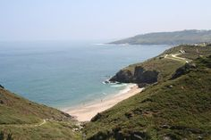 Playa Arnelles - right in the village