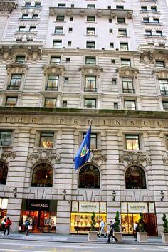 The Peninsula Hotel in NYC  http://www.thepurplepassport.com/picks/newyork/hotel/the-peninsula-new-york/