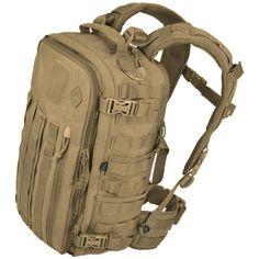 Hazard 4 Officer Coyote Front/Back Slim Organizer Pack