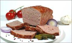 Fleischkäse kann man ganz einfach selber machen.   Wurst und Schinken selber machen