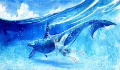 Asuka Ishii: Into the blue