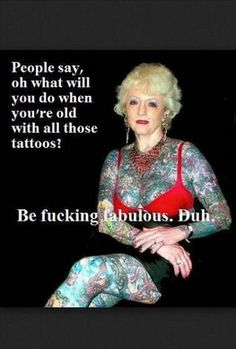 This has got to be the 2nd most asked question by people who have no tats and finally here's your answer.  #tattoos