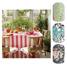 Fill your conservatory with plenty of plants to create a lush, jungle-like feel. Dress a table with colourful linens and antique church chairs for a pretty, country look. Conservatory Dining Room, Conservatory Design, Sunroom Dining, Outdoor Settings, Table Settings, Interior Exterior, Interior Design, 25 Beautiful Homes, Al Fresco Dining