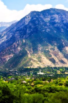 Provo, UT ... I love Utah. One of the most beautiful states.....home of BYU where some of our family attended...Pat