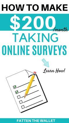 Best Paid Online Surveys, Legit Paid Surveys, Best Online Survey Sites, Surveys That Pay Cash, Survey Sites That Pay, Online Jobs, Earn More Money, Earn Money From Home, Earn Money Online