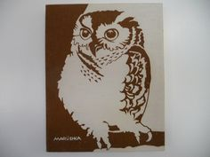 Marushka owl...I loooove everything Marushka!!