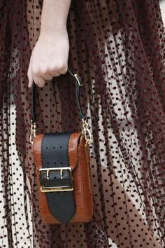 A detailed look at the mini bags in Burberry's new collection