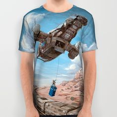 The Time Job - Firefly + Doctor Who  All Over Print Shirt