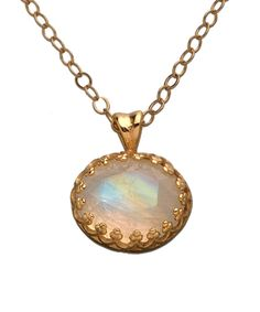 Becky Kelso Moonstone Pendant Necklace