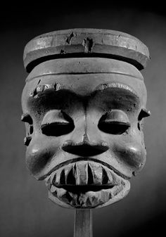 "Ibibio mask, Nigeria - Schoffel Fabry - Exhibition: ""Beyond the Mask"""