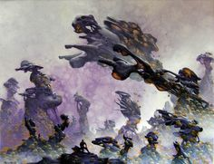 "Saatchi Art Artist Arthur Haas; Painting, ""Bubblescape"" #art"