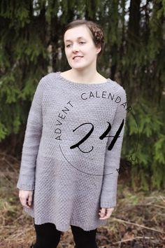 knit you advent calendar 2014, day 24: big grey cloud