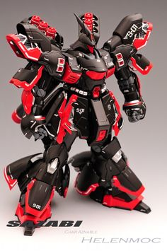 GUNDAM GUY: MG 1/100 Sazabi Ver Ka - Painted Build