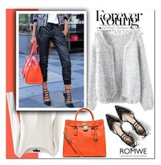 """Romwe!!"" by adanes ❤ liked on Polyvore featuring MICHAEL Michael Kors, Zara, women's clothing, women, female, woman, misses, juniors, romwe and polyvoreeditorial"