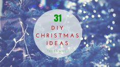 Looking to do some cheap Christmas decorating this year? Check out our list of 31 DIY Christmas Ideas for your home. Pallet trees, mason jars, and more: