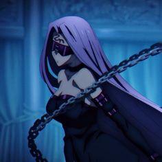Fate Stay Night Anime, Type Moon, Medusa, Aesthetic Anime, Anime Girls, Fantasy Art, Anime Art, Character Design, Profile