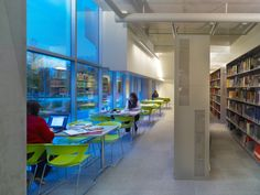 From the project's inception, Langara College was looking to address the educational and spatial needs of the school, as well as create a sustainable. College Library, Libraries, Vancouver, Sustainability, Classroom, Education, School, Building, Buildings