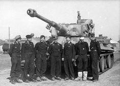 Panzerkampfwagen VI Tiger 812 Tiki of 8 schwere Kompanie Division Das Reich