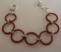 Coils, circles, copper, oh my! This bracelet is so awesome.