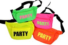 Party Fanny Pack (NEW NEON COLORS!) get sratty