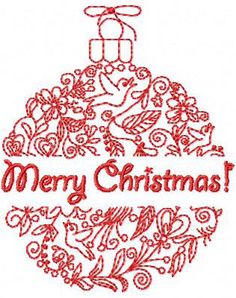 Merry Christmas decoration free from abc designs