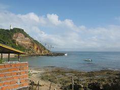 A Primeira praia tem 315 metros frequentada por surfistas.