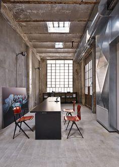 MSGM headquarters in Milan by Fabio Ferrillo--looks a little like the LHL