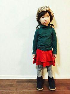 a9ae8ffa5d3d4 フェリシモキッズ(felissimo KIDS)|フェリシモキッズのスカートを使ったコーディネート