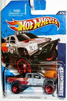 Amazon.com: Buying Choices: Hot Wheels 2011 Performance #6/10 Grey SANDBLASTER #136/244 Collectible Truck