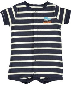 Carters Great Catch Whale Boys Romper Newborn >>> Find out more about the great product at the image link. (This is an affiliate link) #BabyBoyFootiesandRompers