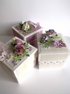 So pretty!  Decorated box. would be great for gift-giving.