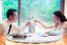 Cheers to a happy life together. Hyatt Lodge at McDonald's Campus Oak Brook. R.E.M. Wedding. www.remvp.com