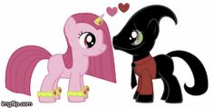Nergal And Princess Bubblegum In My Little Pony So Cute And Heart Art By Nathaniel <3