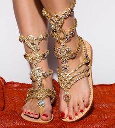 Mystique Embellished Sandals