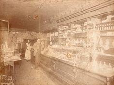 D.M. Tod's Confectionary circa 1895