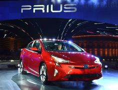Meet the all-new 2016 Toyota Prius - complete with sportier looks, pumped-up specs, and better gas mileage. Fuel Efficient Cars, Toyota Hybrid, Best Gas Mileage, Teen Driver, Car Search, Daihatsu, Toyota Prius, Japanese Cars, Car In The World