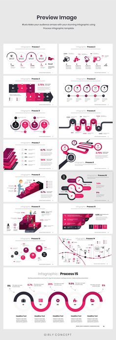 Process Infographic PowerPoint by Mikoslide on Creative Market, Powerpoint Icon, Great Powerpoint Presentations, Online Powerpoint, Infographic Powerpoint, Powerpoint Design Templates, Business Powerpoint Presentation, Microsoft Powerpoint, Creative Powerpoint, Design Web